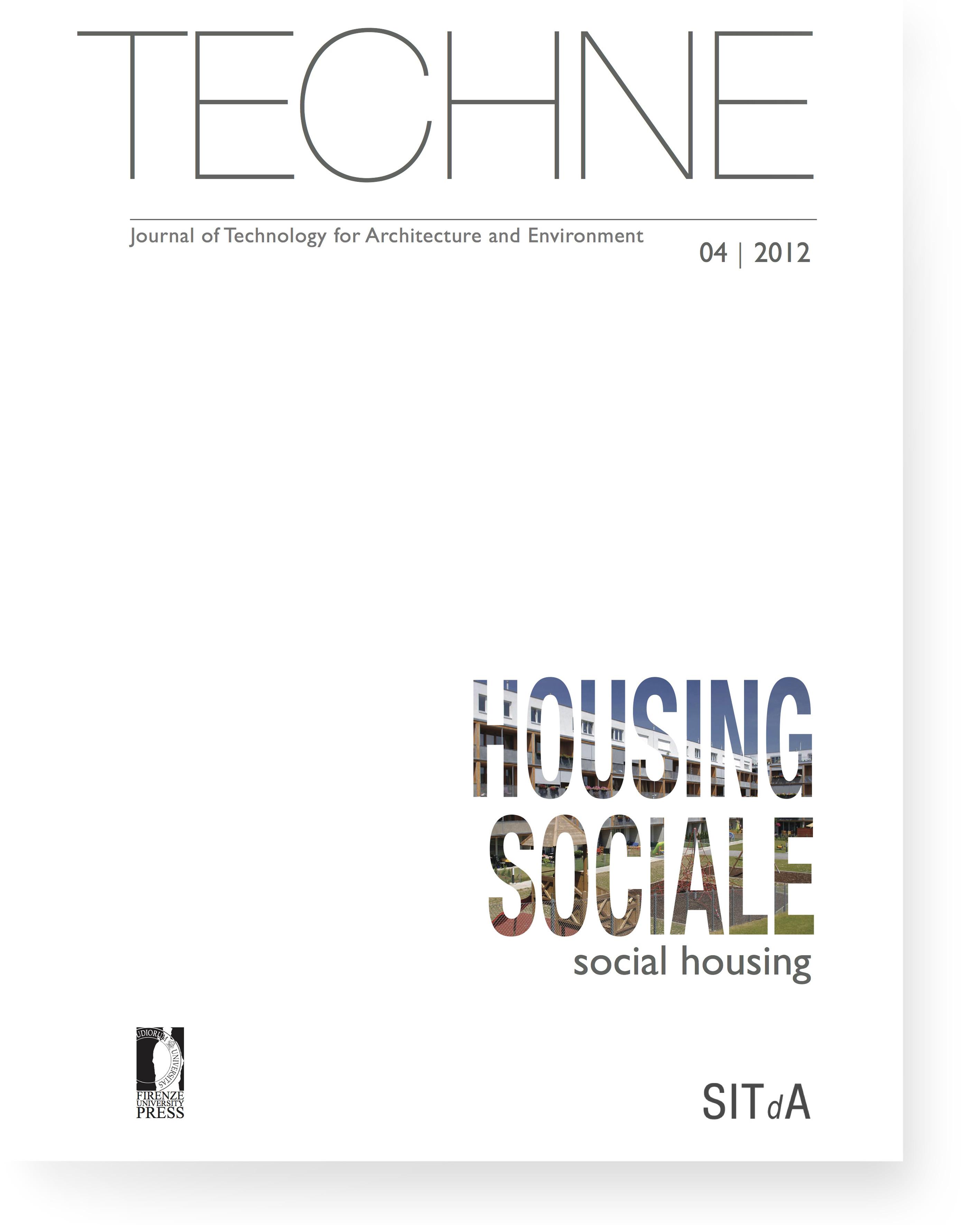 TECHNE 4 (2012): Social housing
