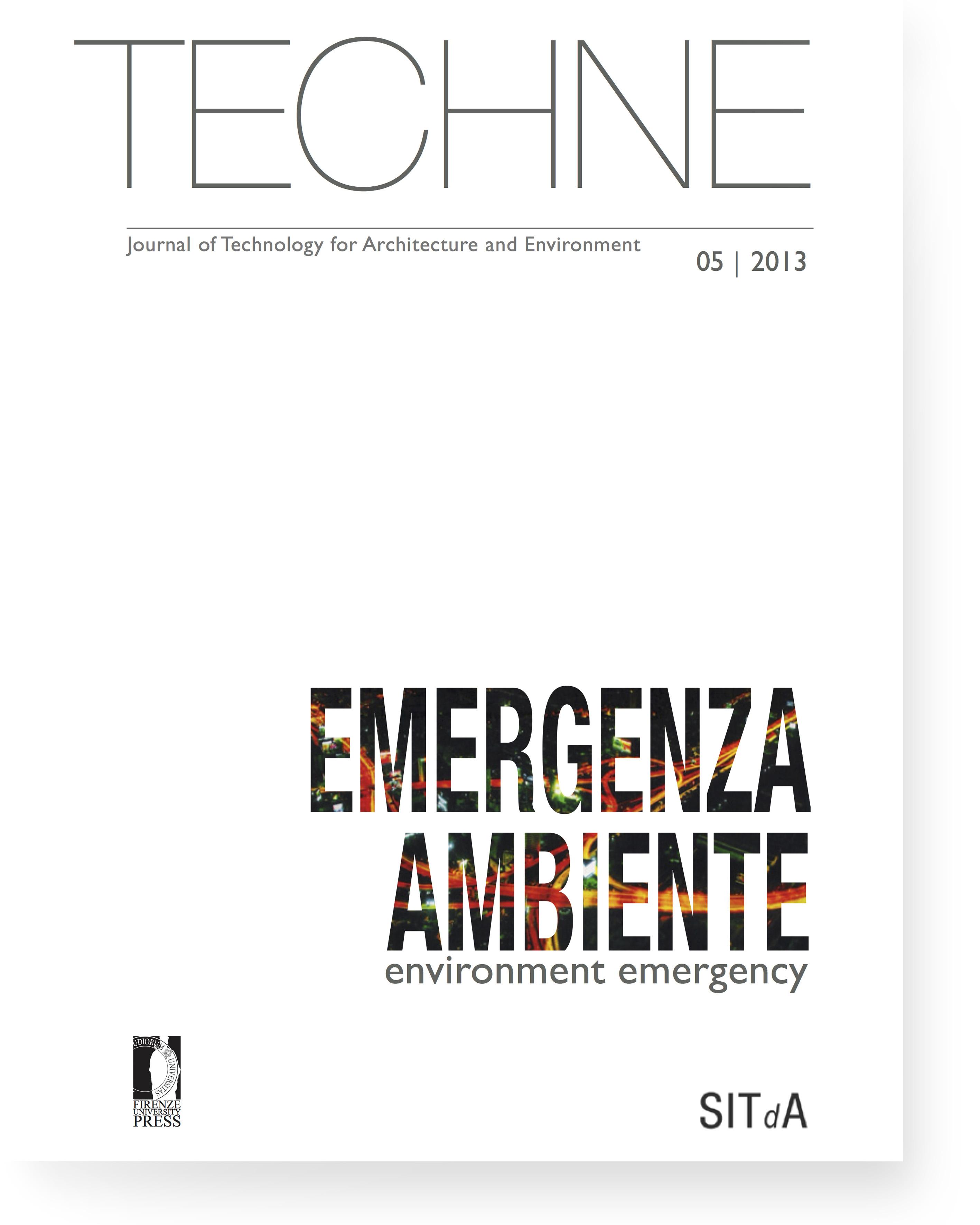 TECHNE 5 (2013): Environment emergency
