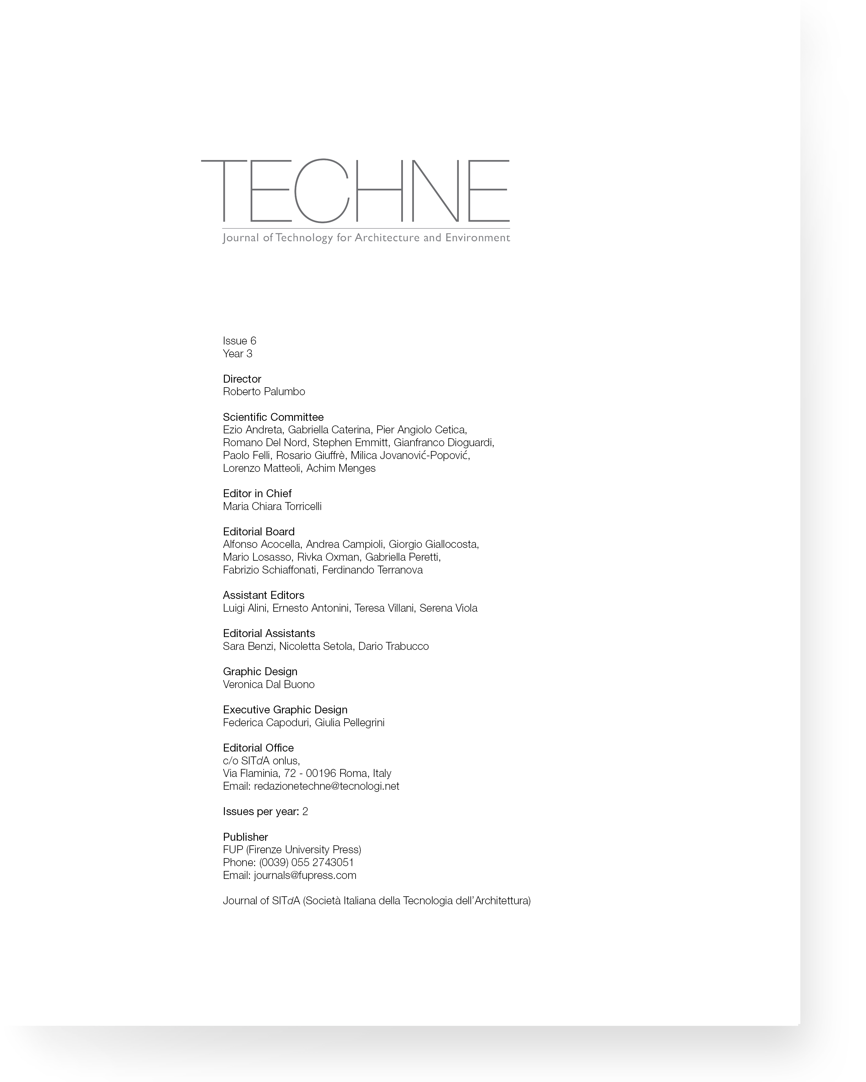 TECHNE 6 (2013): Quality and effectiveness of the building process