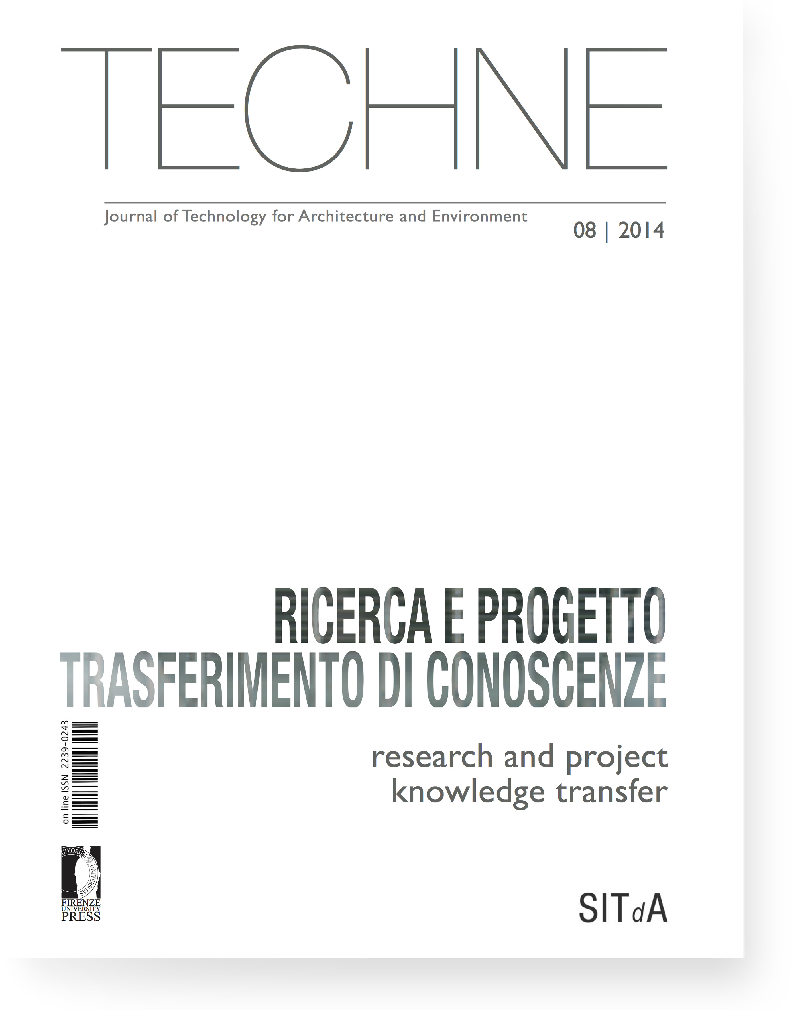 TECHNE 8 (2014): Research and project knowledge transfer
