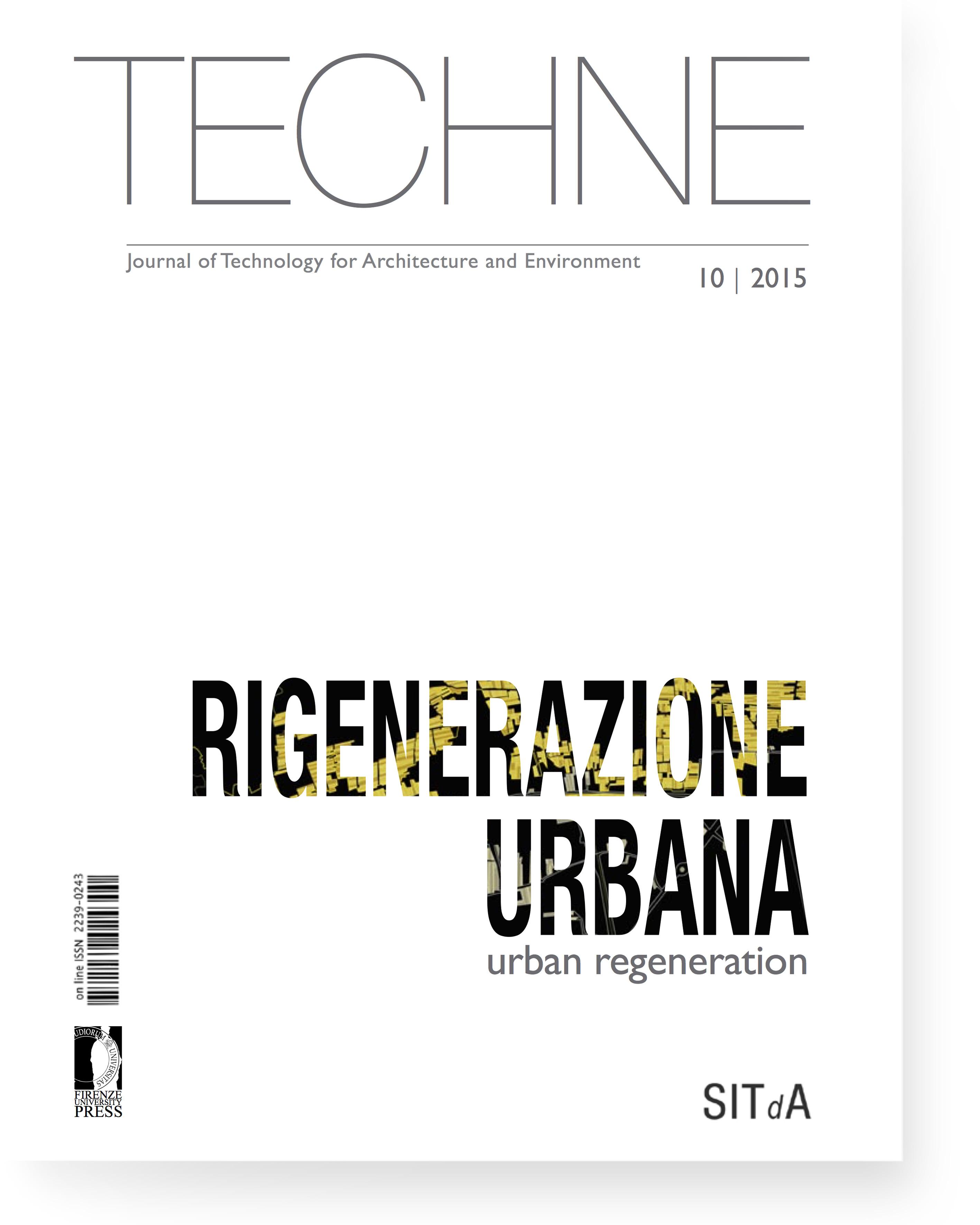 TECHNE 10 (2015): Urban regeneration