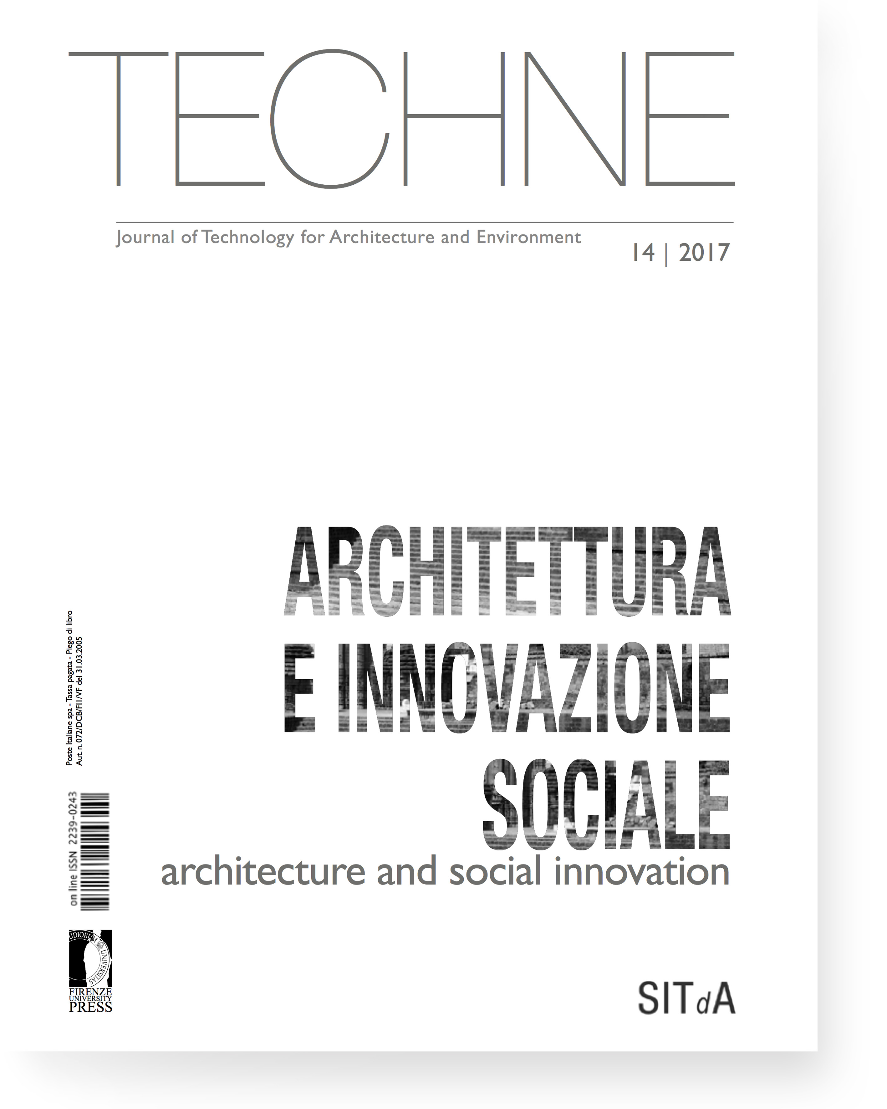 TECHNE 14 (2017): Architecture and social innovation